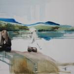 Vid sjön 120x152 cm 2012